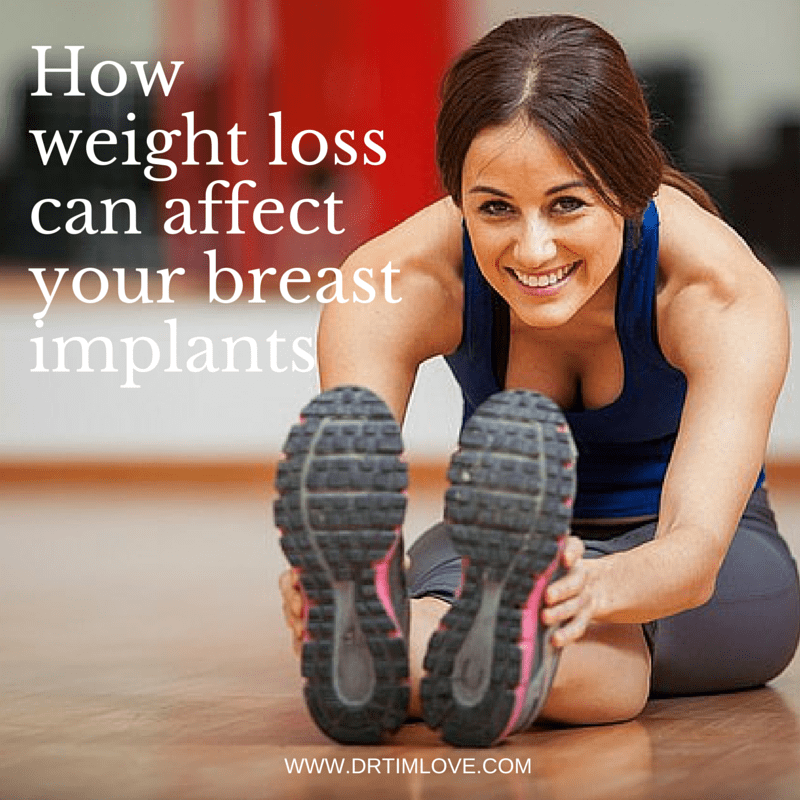 How Weight Loss Can Affect Your Breast Implants