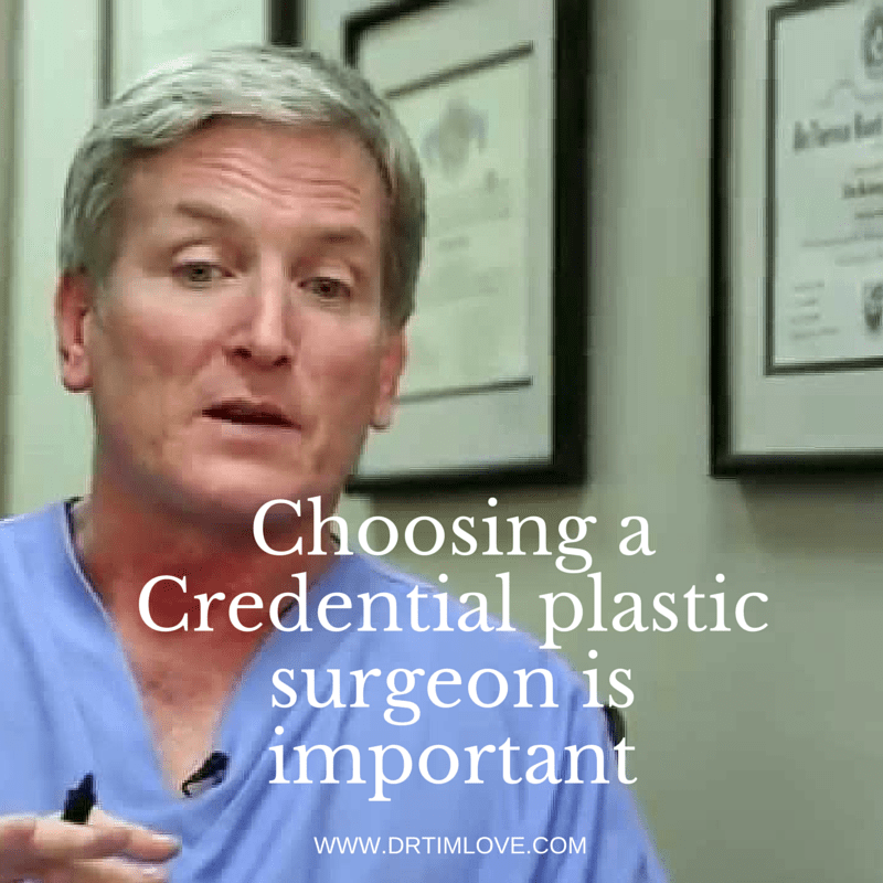 Why You Should Choose a Credentialed Plastic Surgeon