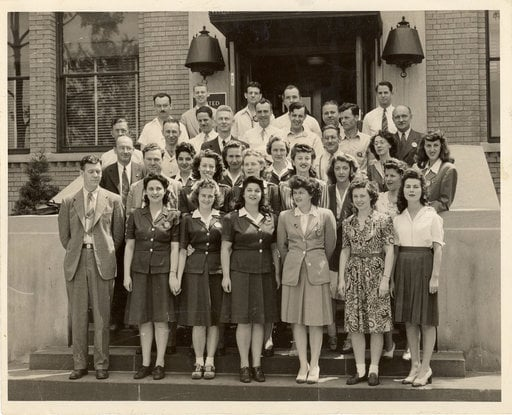 group of 1940s women