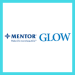 Graphic featuring the Mentor and Glow logos